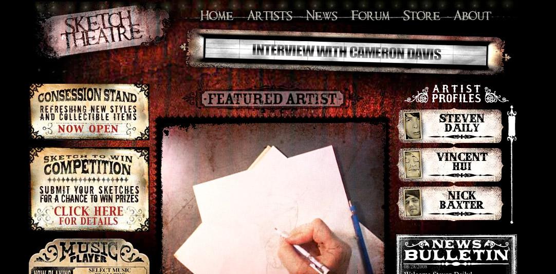 Sketch Theatre - Artisti sul palco (virtuale)
