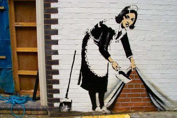 Banksy - New Millennium Satyricon