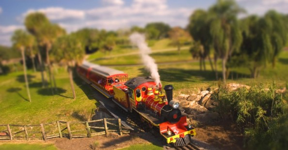 Tilt-shift: the mini-worldTilt-shift: il mondo in miniatura