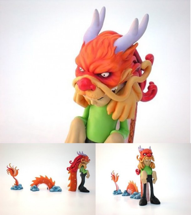 Kid Dragon vinyl toy