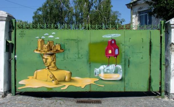 20 Examples of Graffiti & Street Art-Europe #1