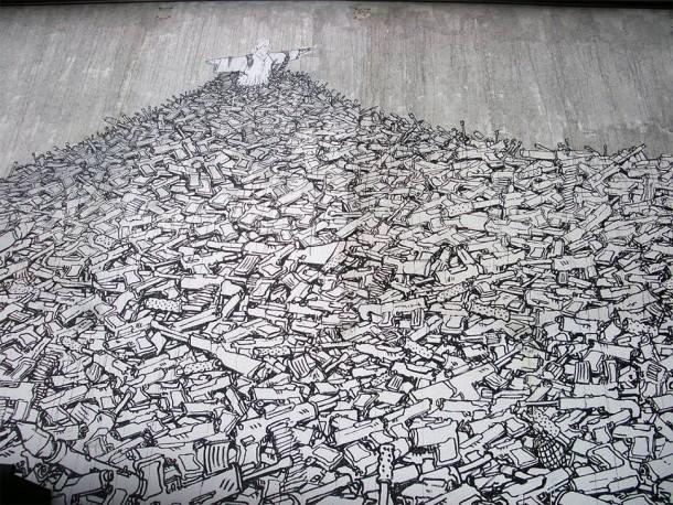 30 Examples of Graffiti & Street Art- South America30 Examples of Graffiti & Street Art- South America