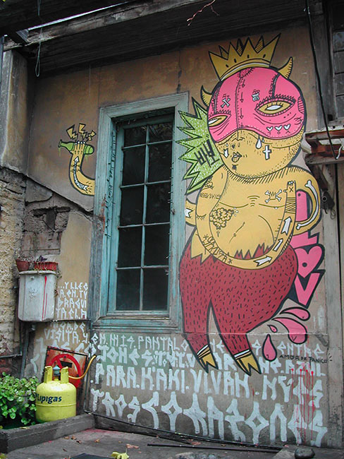 30 Examples of Graffiti & Street Art  South America
