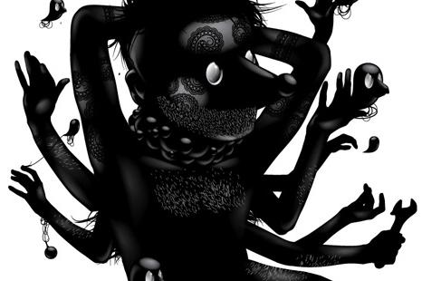 The black world of Yury UstsinauThe black world of Yury Ustsinau