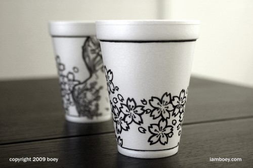 Coffee Cup Illustrations by Boy Obsolete