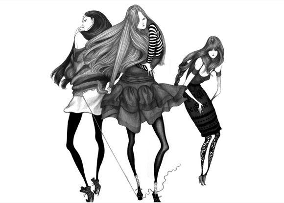 Laura Laines Fashion Illustrations
