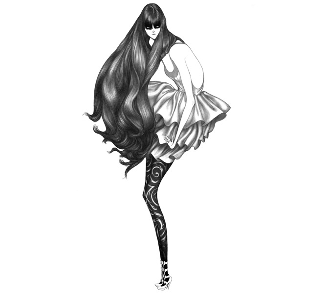 Laura Laines Fashion Illustrations