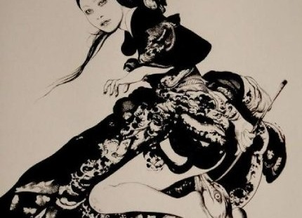Dark Gothic Illustrations by Vania ZouravliovDark Gothic Illustrations by Vania Zouravliov