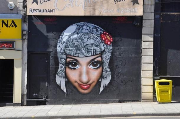 20 Examples of Graffiti & Street Art from Bristol20 Examples of Graffiti & Street Art from Bristol