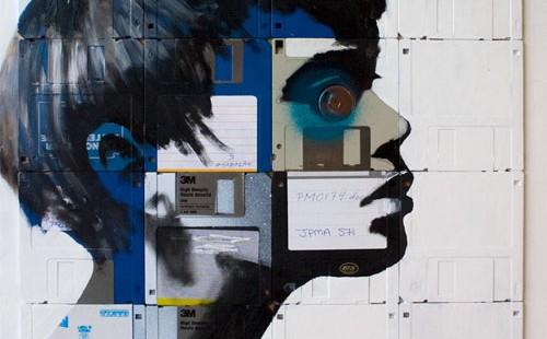 Floppy Disk Art by Nick GentryFloppy Disk Art by Nick Gentry