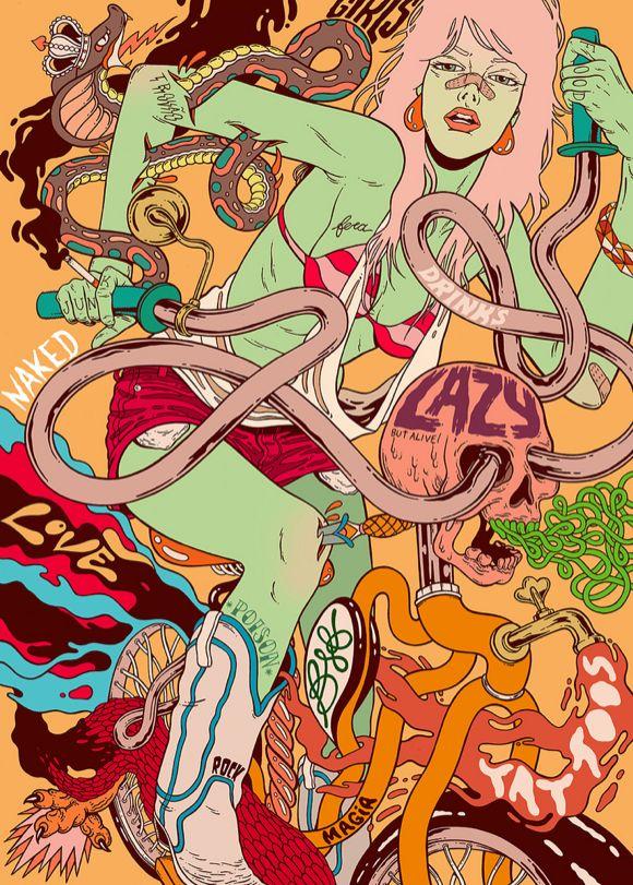 Bicicleta Sem Freio collectiveBicicleta Sem Freio collective