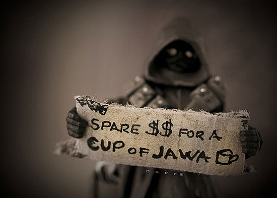cup of jawa The secret life of Star Wars toys