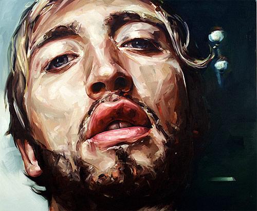 Nick Lepard's paintings