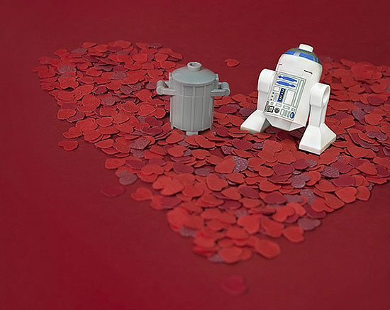 r2d2 love story The secret life of Star Wars toys