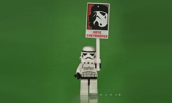 storm trooper che sign The secret life of Star Wars toys