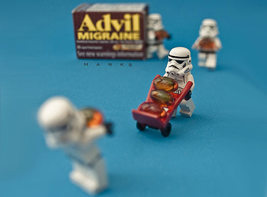 stormtroopers mining The secret life of Star Wars toys