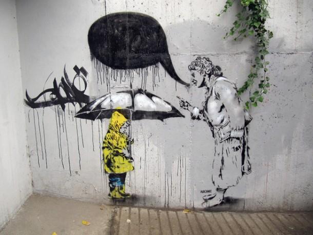 25 Examples of Graffiti & Street Art-Asia