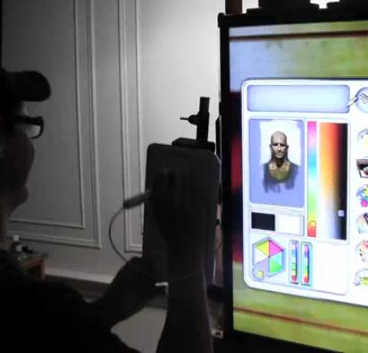 David Kassan painting on iPad and Nintendo WiiDavid Kassan painting on iPad and Nintendo Wii
