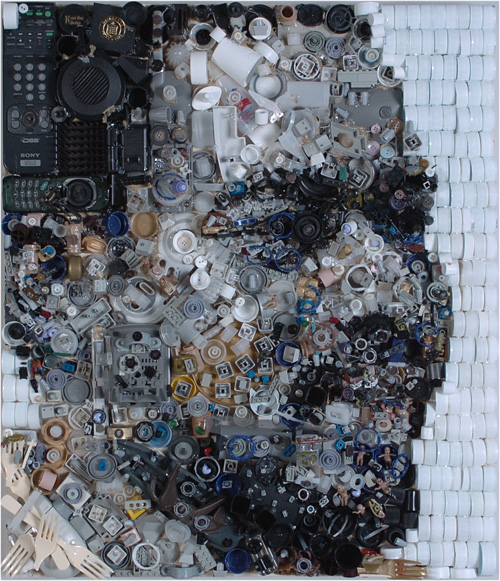 Junk Portraits by Zac FreemanJunk Portraits by Zac Freeman