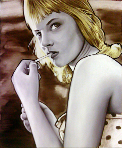 Pop Culture Oil Paintings by Juergen GrewePop Culture Oil Paintings by Juergen Grewe
