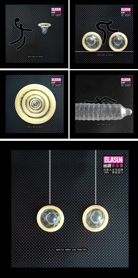 30 Most Brilliant and Creative Condom Ads #1