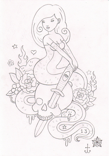 James Murphys tattoo style