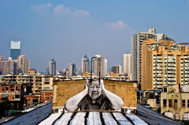 The Wrinkles of the City by JRThe Wrinkles of the City by JR