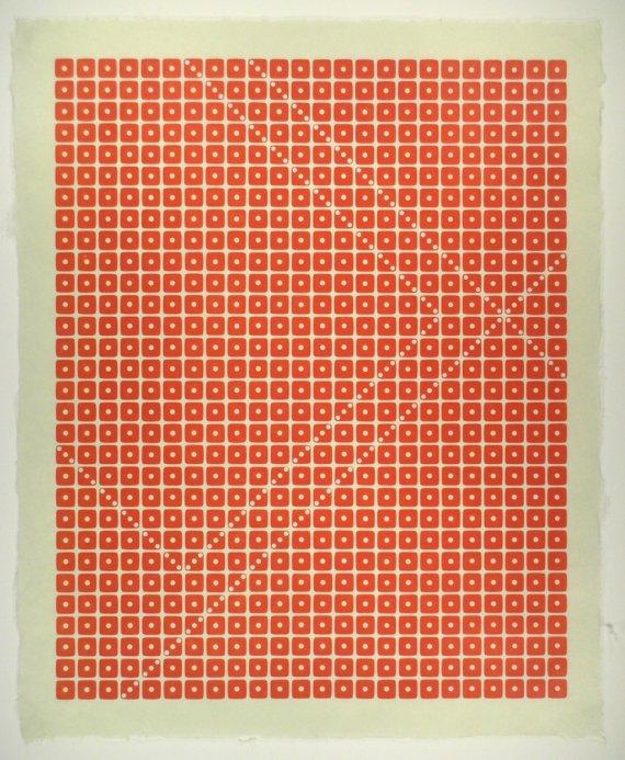 Dice pattern prints by Stukenborg