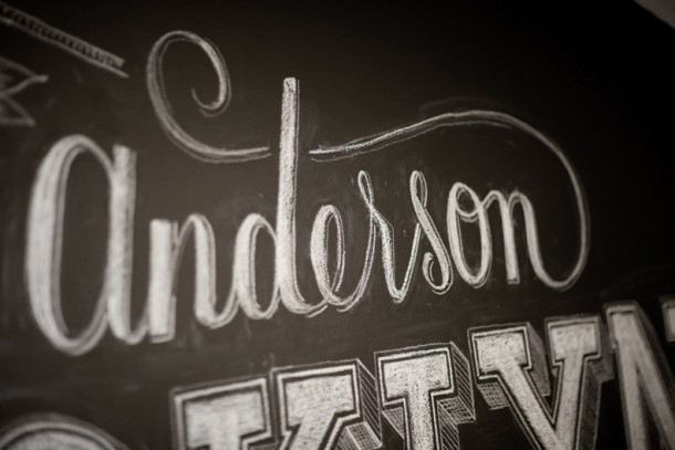 Dana Tanamachi's chalk typographyDana Tanamachi's chalk typography
