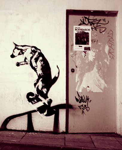 Stencil art by Sr.X