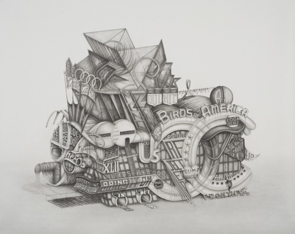 New Worlds in Pencil by Frank MagnottaNew Worlds in Pencil by Frank Magnotta