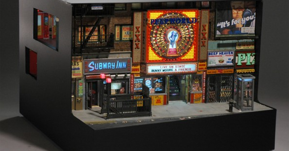 Miniature Urban Sculpture by lan WolfsonMiniature Urban Sculpture by lan Wolfson