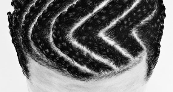 So Yoon Lym's Paintings of Hair and Braid PatternsSo Yoon Lym's Paintings of Hair and Braid Patterns