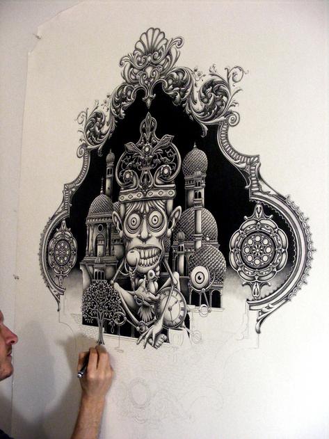 Drawing by Joe Fenton