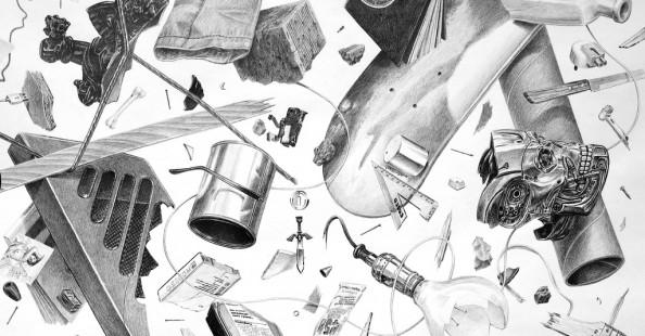Drawings by Jonathan ZawadaDrawings by Jonathan Zawada