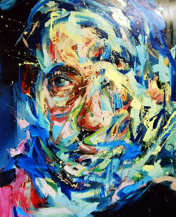 Oil portrait by Andrew Salgado