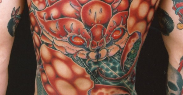 Traditional/manga style tattoos by GenkoTraditional/manga style tattoos by Genko