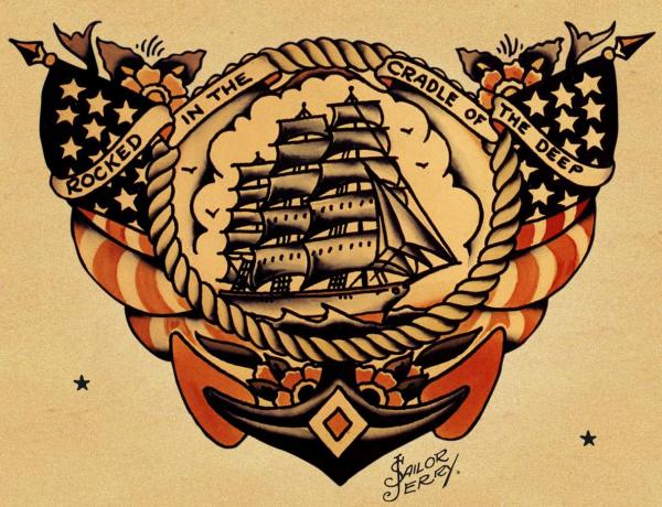 Sailor Jerry - The legend of the classic tattoo