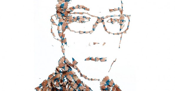 Pencil Shaving Portraits by Kyle BeanPencil Shaving Portraits by Kyle Bean