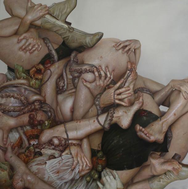 Monica Cook's Hyperrealistic PaintingsMonica Cook's Hyperrealistic Paintings