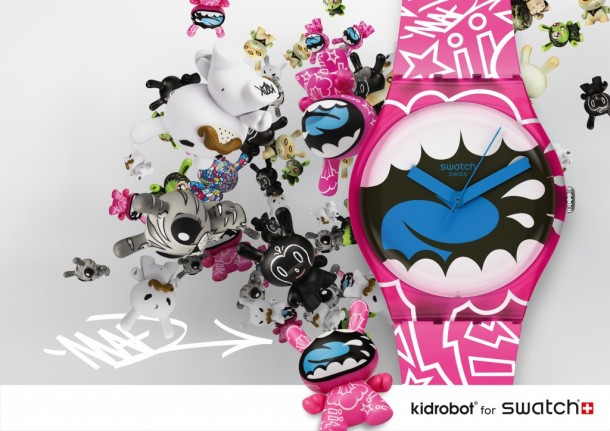 Kidrobot for SwatchKidrobot for Swatch