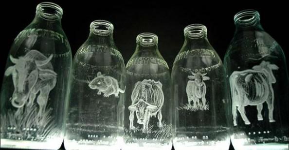 Milk Bottles by Charlotte Hughes MartinMilk Bottles by Charlotte Hughes Martin