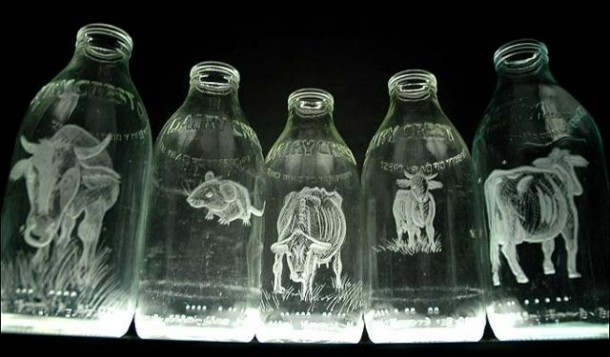 Milk Bottles by Charlotte Hughes MartinMilk Bottles by Charlotte Hughes Martin