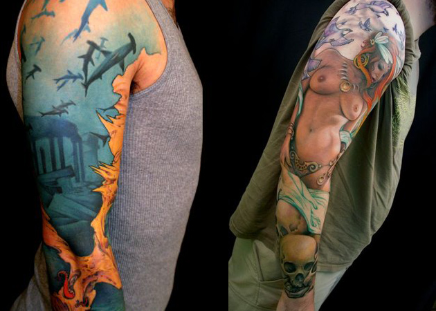 Jeff Gogue Impressive Tattoo