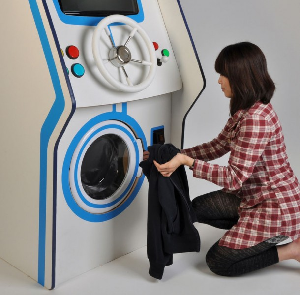 Arcade washing machineArcade washing machine