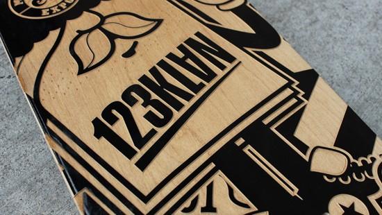 123KLAN Engraved Sk8 Boards123KLAN Engraved Sk8 Boards