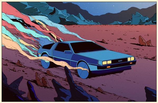 Sci-fi retro illustrations by Kilian EngSci-fi retro illustrations by Kilian Eng
