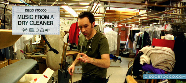 Music from a Dry Cleaner, by Diego StoccoMusic from a Dry Cleaner, by Diego Stocco
