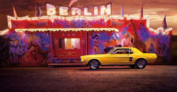 Yellow Mustang Journey