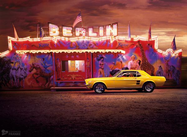 Yellow Mustang JourneyYellow Mustang Journey